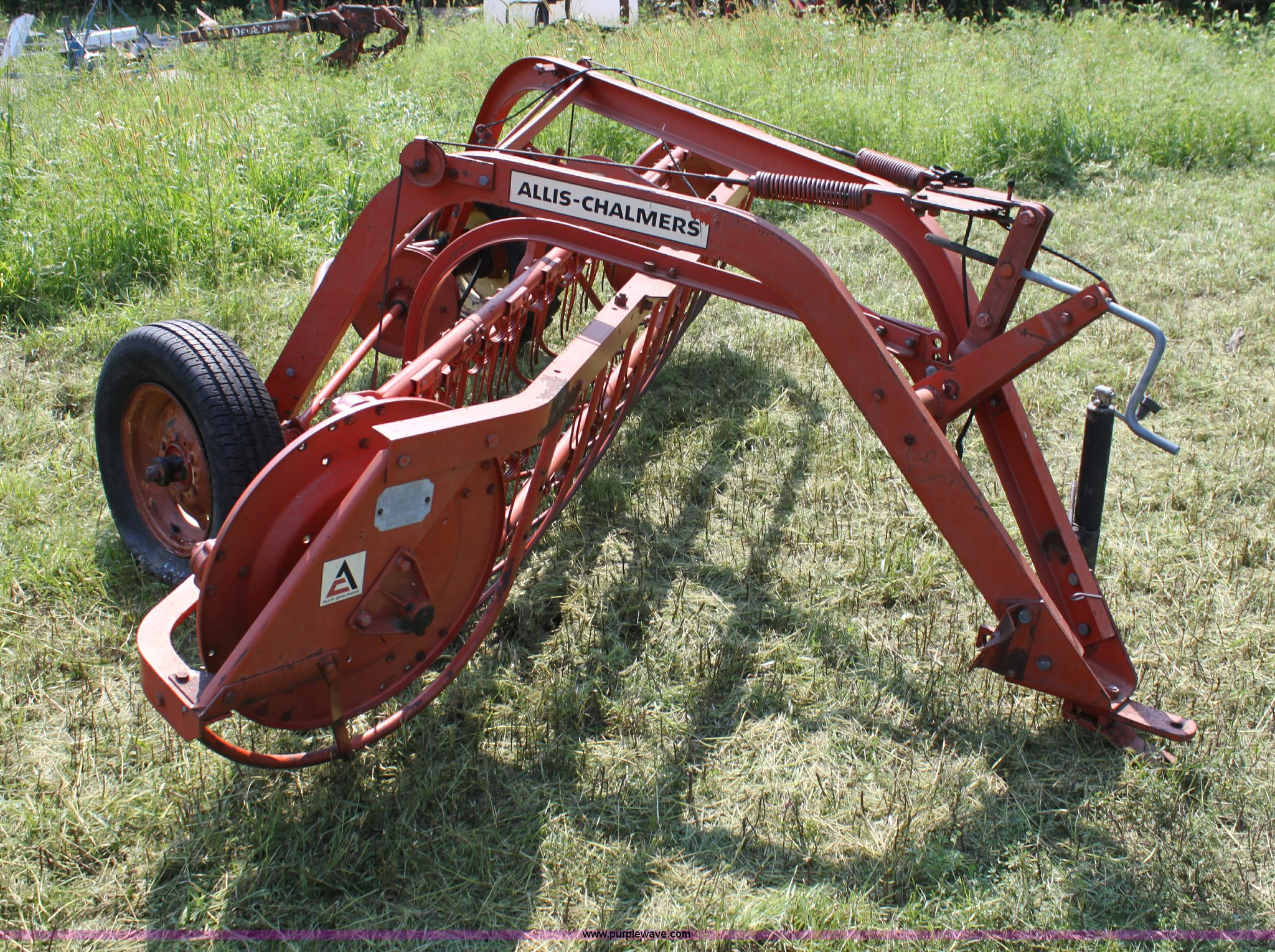 ... Allis Chalmers side delivery hay rake Full size in new window ...