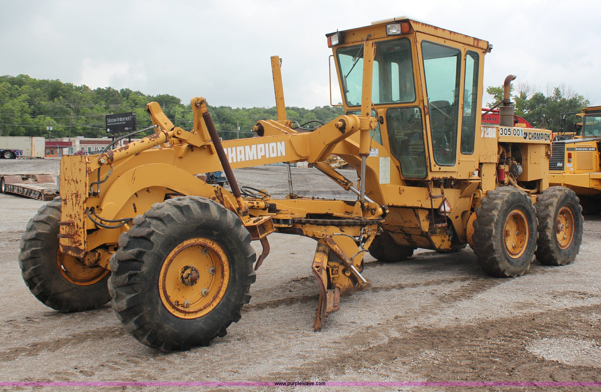 H6720 image for item H6720 1989 Champion 720A articulated motor grader