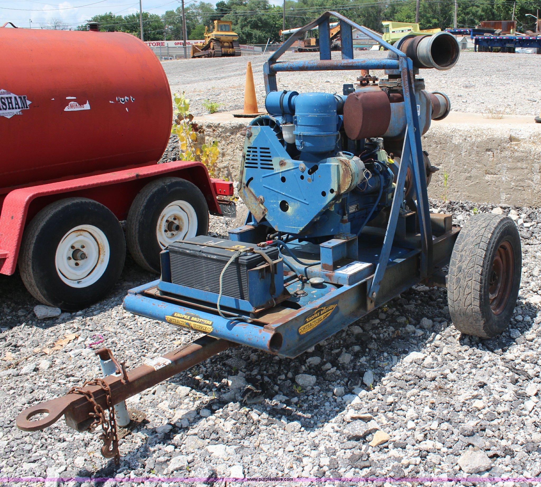 gorman rupp  water pump item  sold septembe