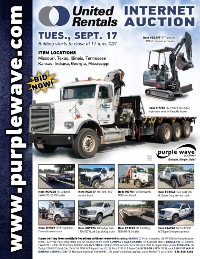 View September 17 United Rentals Auction flyer