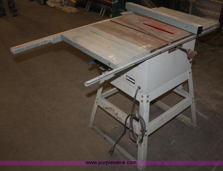 Delta Shopmaster table saw | Item AN9664 | SOLD! September 1