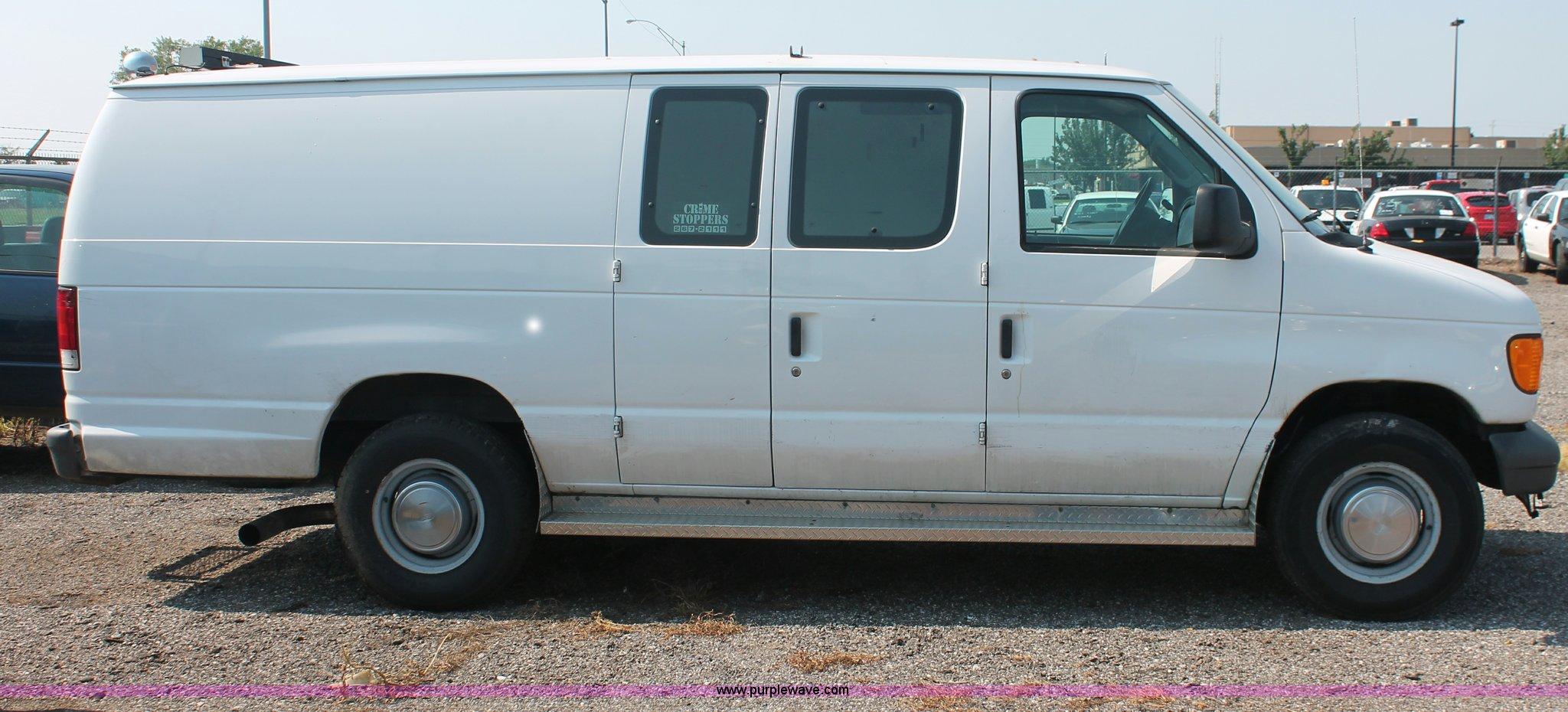 2000 ford e 350 super duty extended cargo van