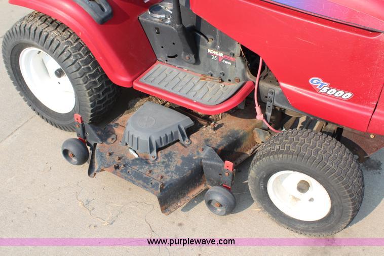 Craftsman GT5000 lawn mower | Item AU9014 | SOLD! September