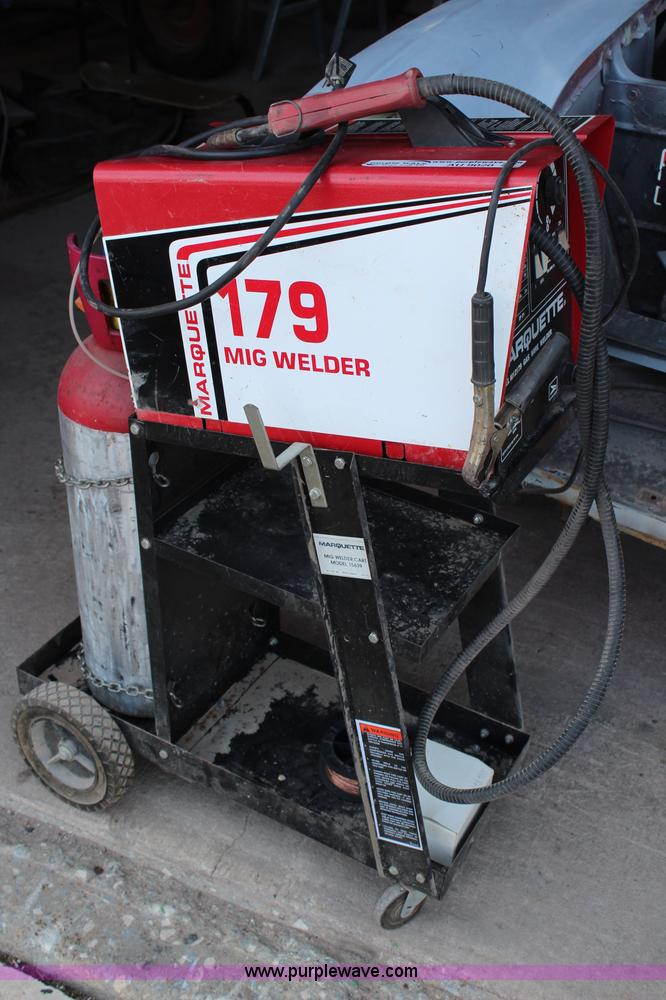 Used Mig Welders For Sale >> Marquette 179 mig welder | Item AU9020 | 9-18-2013
