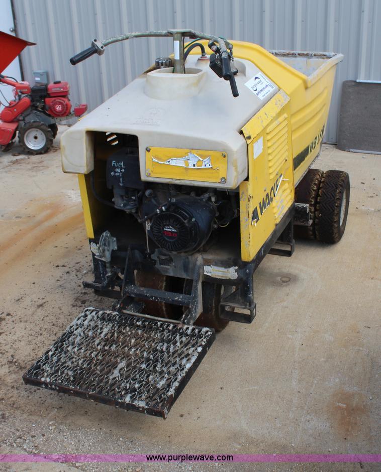 Wacker WB16 concrete buggy | Item H6662 | SOLD! September 18