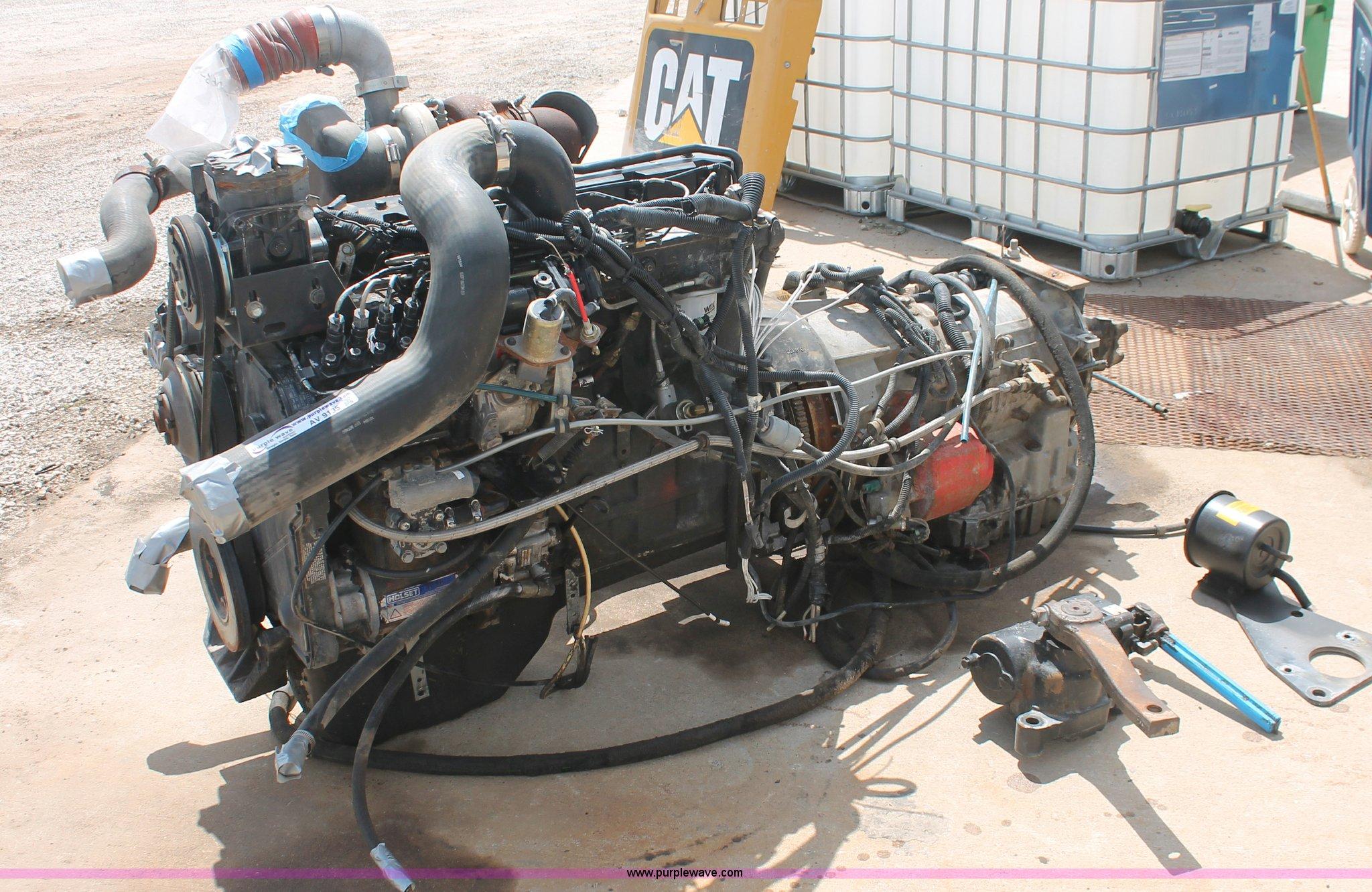 Cummins C8 3 250 sel engine with transmission