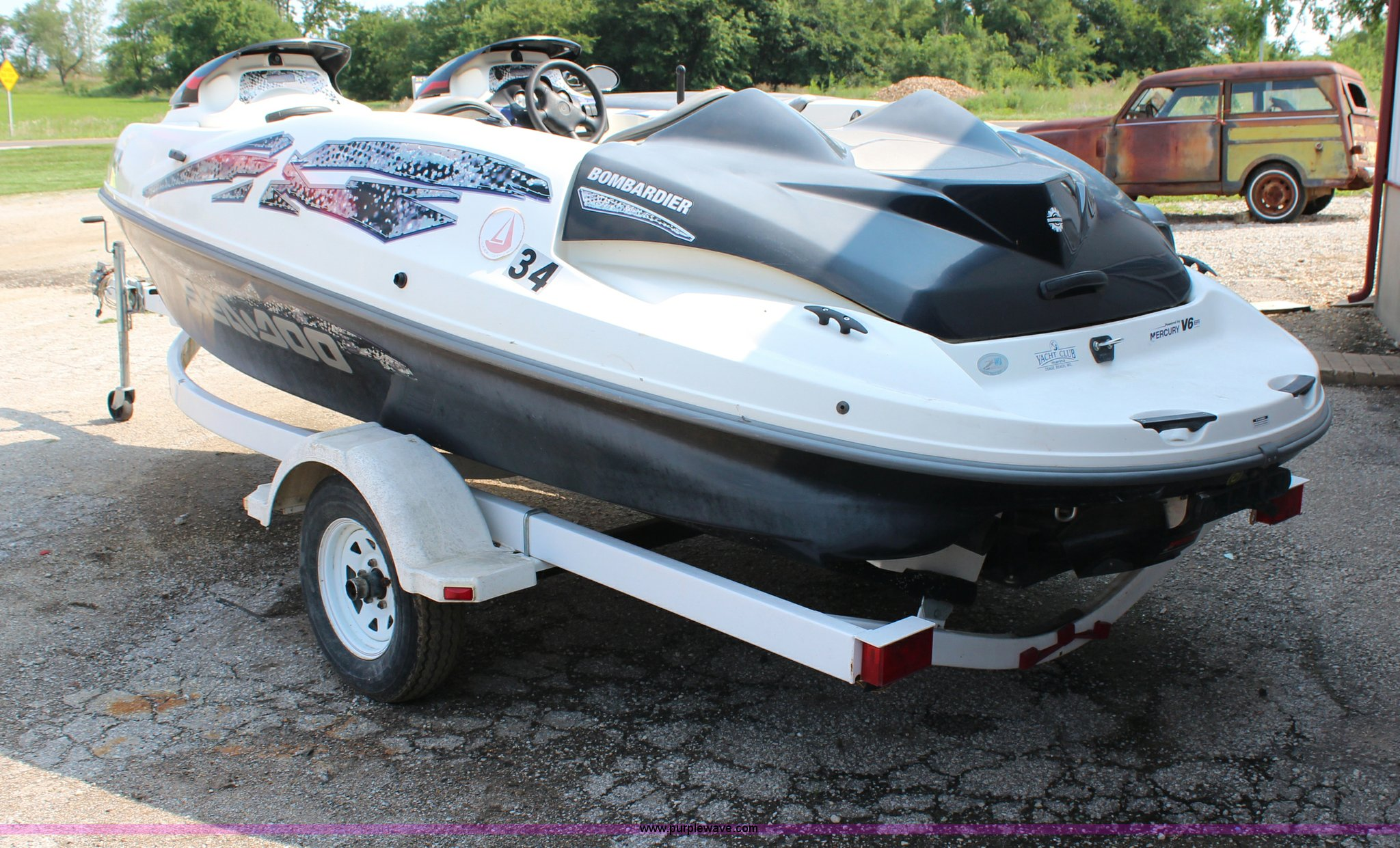 SeaDoo Speedster boat | Item H6532 | SOLD! September 18 Vehi