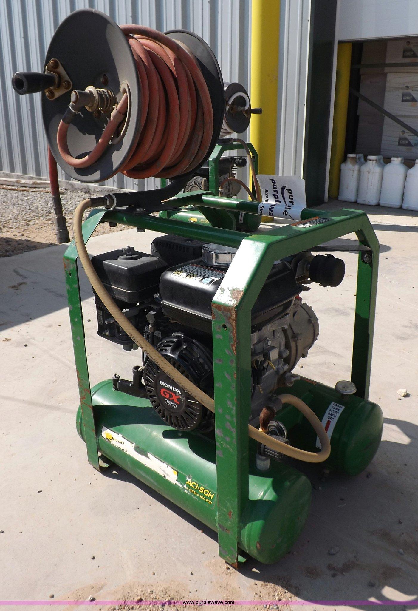 John Deere Air Compressor >> John Deere Air Compressor Item I7624 Sold September 18