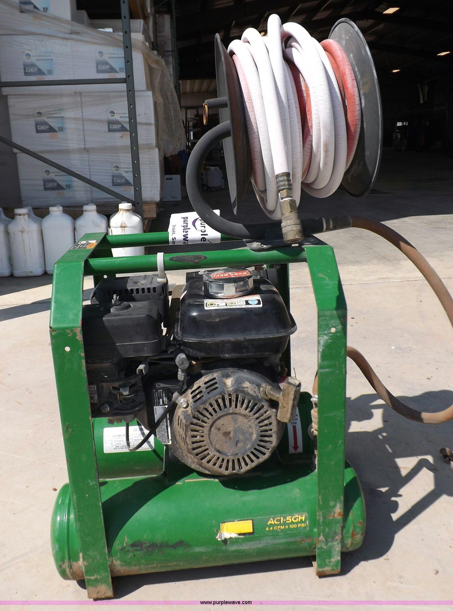 John Deere Air Compressor >> John Deere Air Compressor Item I7625 Sold September 18