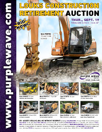 View September 19 Louks Construction Retirement Auction flyer