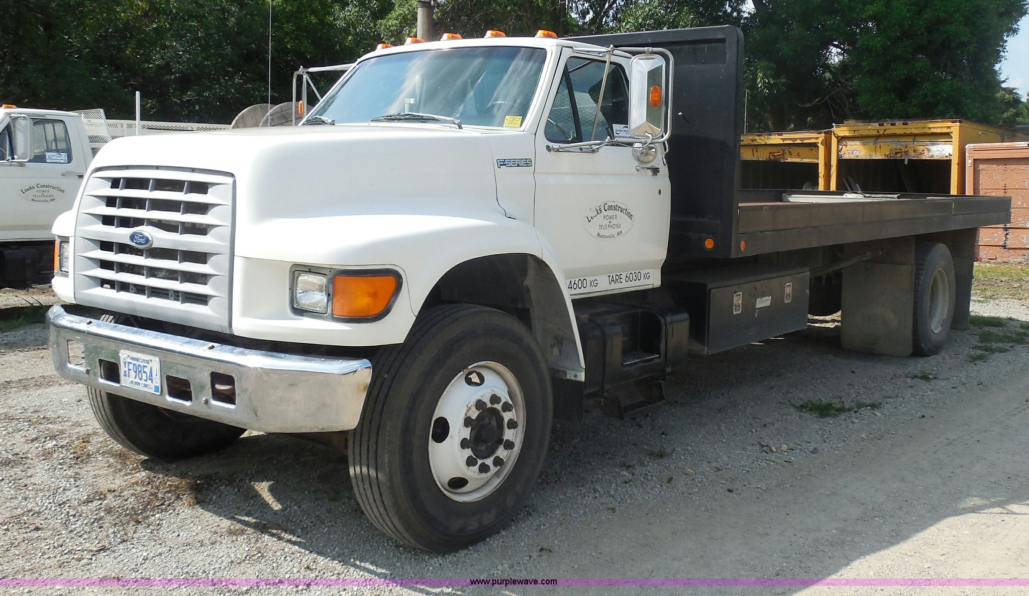 G8980 image for item G8980 1998 Ford F800 ...
