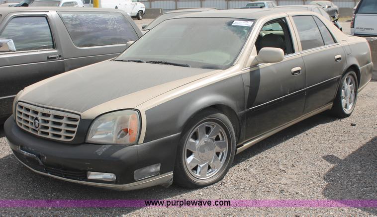2001 Cadillac Deville Dts Item I8107 Sold September 23