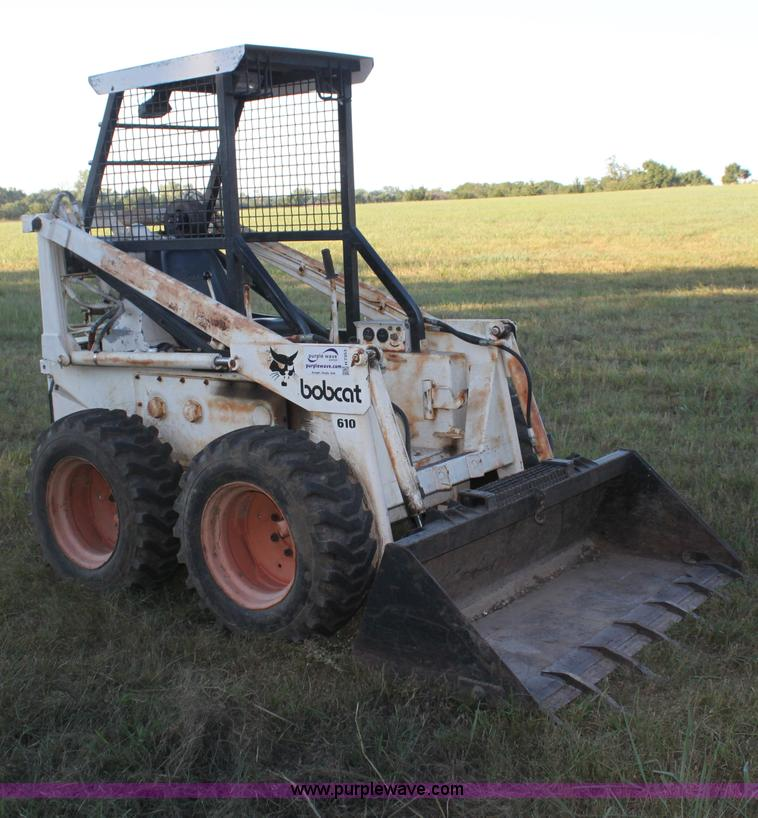 Bobcat 610 Skid Steer No Reserve Auction On Wednesday