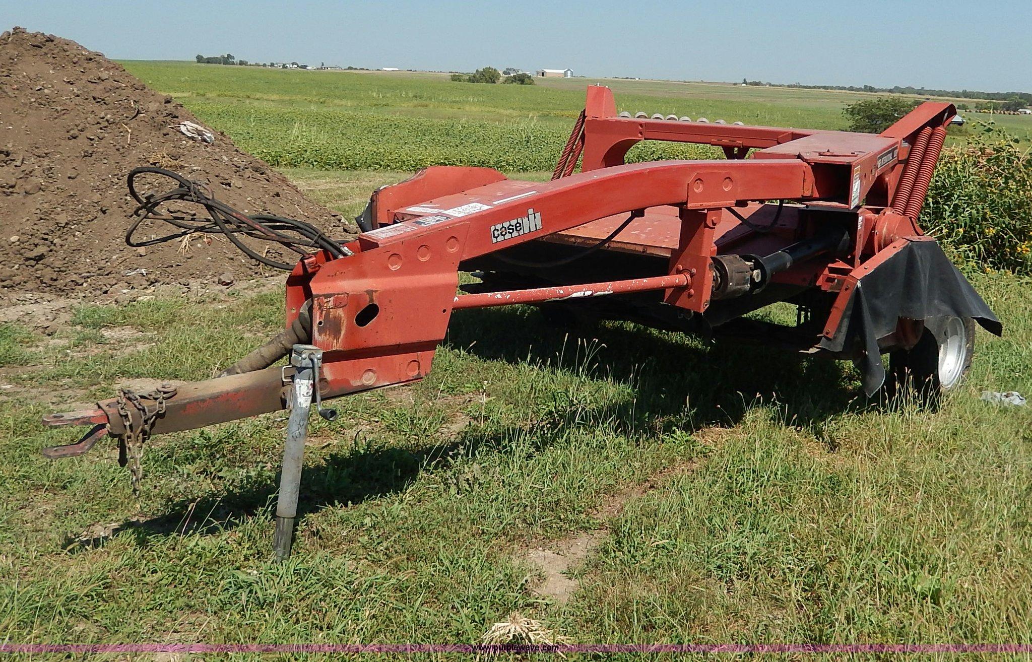 Case IH 8309 mower conditioner   Item H9750   SOLD! Septembe
