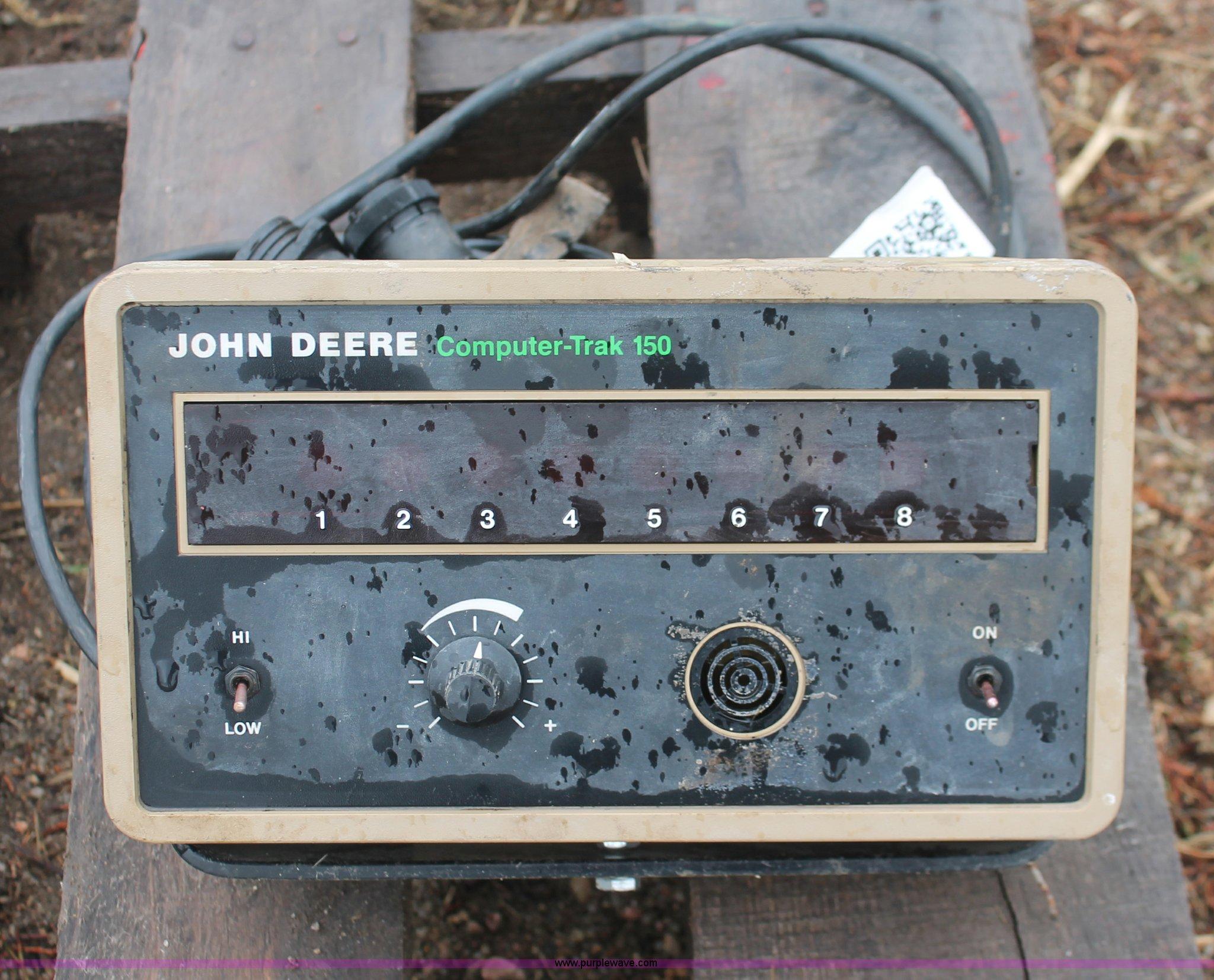 John Deere Computer Trak 150 Monitor Item I8052 Sold Se