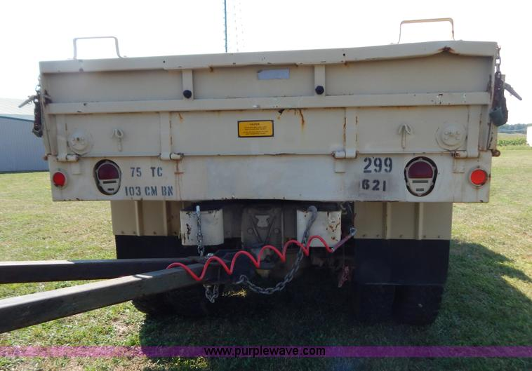 1983 Am General M923 military truck | Item B5820 | SOLD! Sep... M Military Trailer Wiring Diagram on