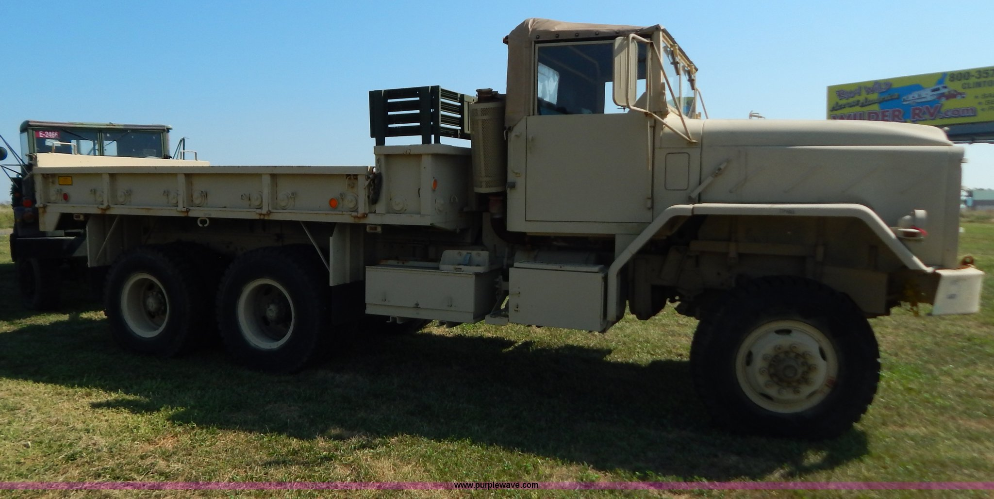 1983 Am General M923 military truck | Item B5820 | SOLD! Sep... M Battery Wiring Diagram on