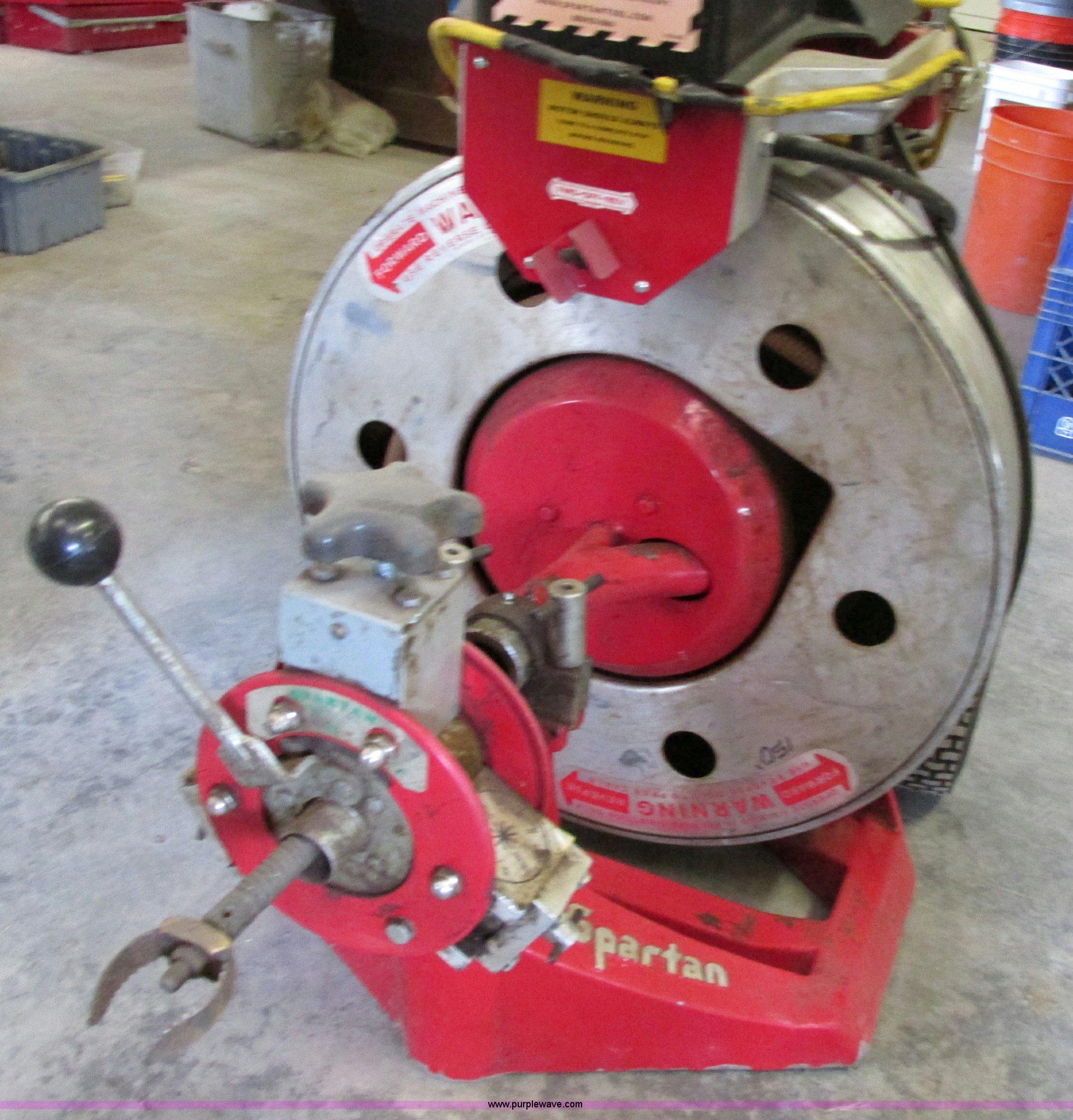 2008 Spartan 2001 Commercial Sewer Auger Item Z9243