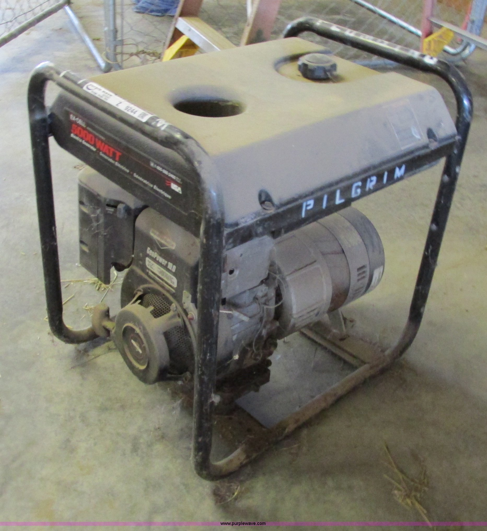 Excell 5 000 watt generator Item Z9244