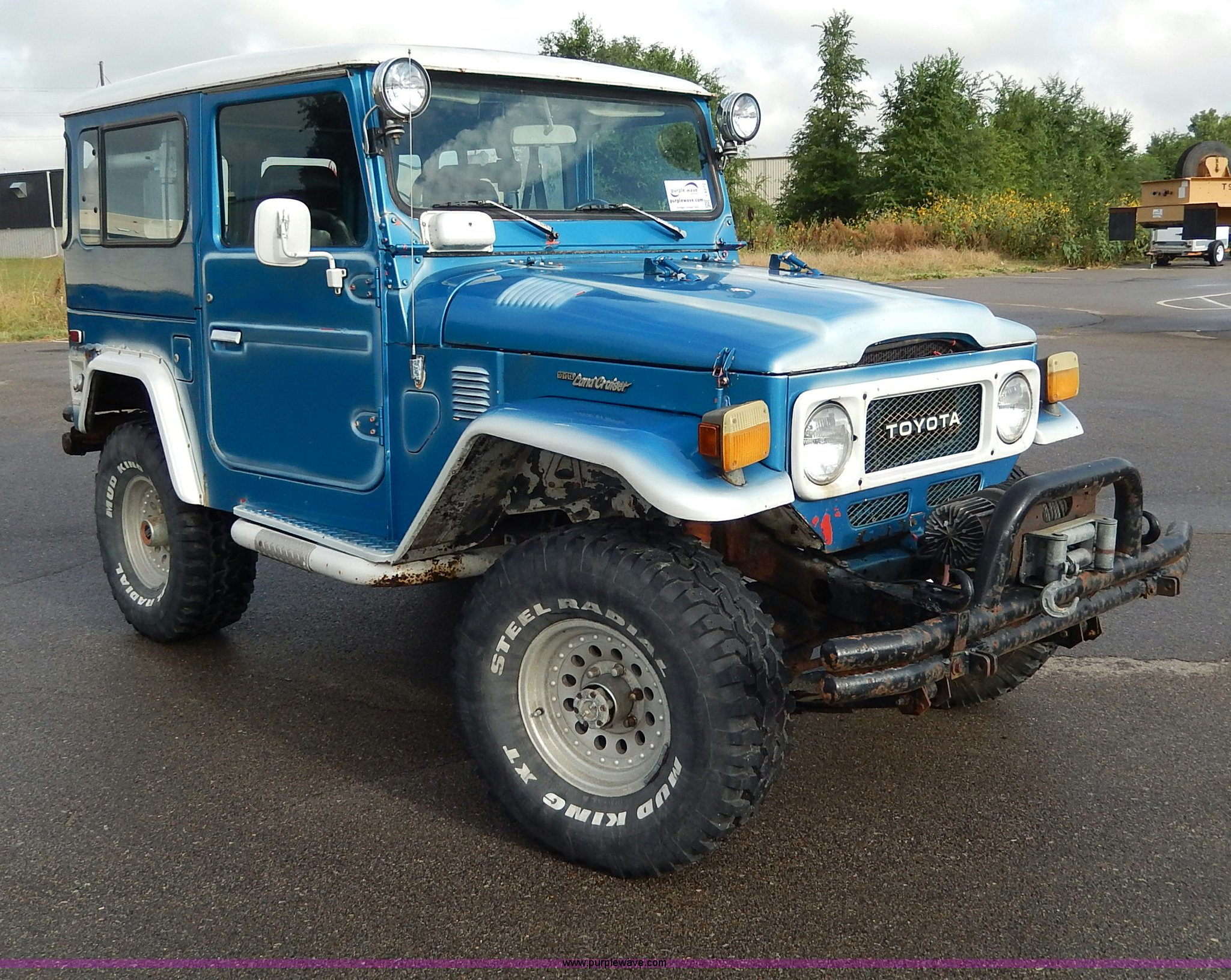 1983 Toyota Land Cruiser Suv Item I4272 Sold October 2 Full Size In New Window