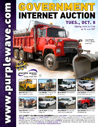 View October 8 Government Auction flyer