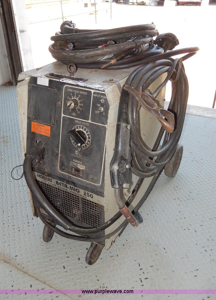 hobart beta mig 250 wirefeeder welder item aa9688 sold! Hobart Beta Mig Welder Gun at Hobart Beta Mig 250 Wiring Diagram