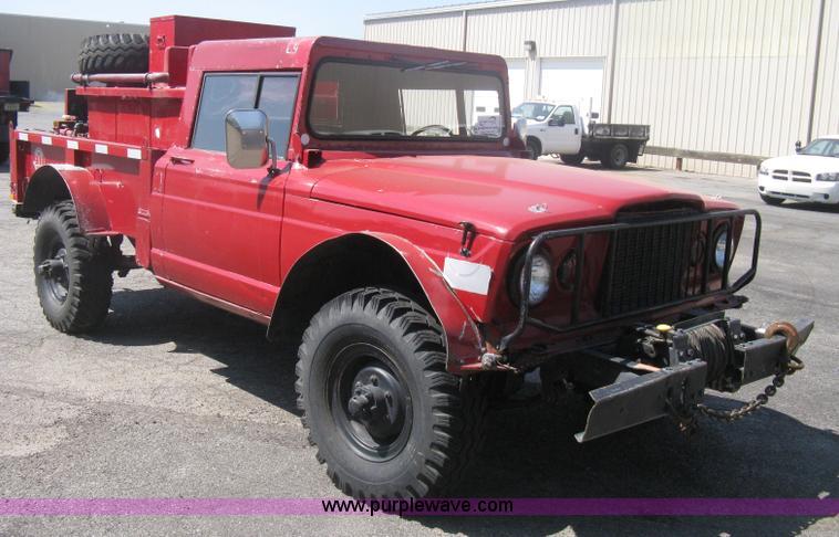 1968 Kaiser Jeep M715 Brush Firetruck No Reserve Auction