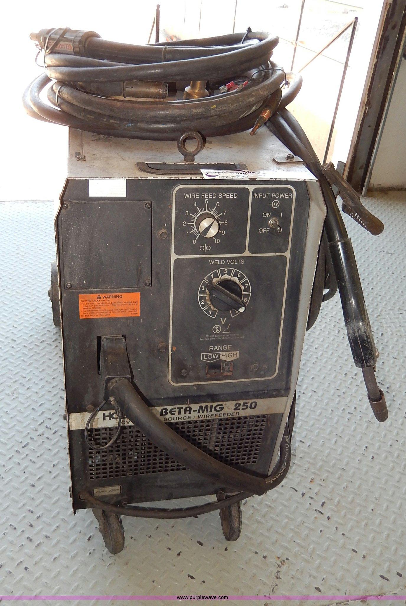 hobart beta mig 250 wirefeeder welder item aa9688 sold! hobart beta mig 250 wiring diagram at Hobart Beta Mig 250 Wiring Diagram