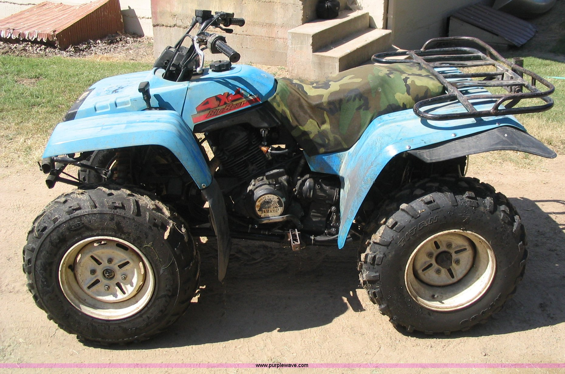 1988 Yamaha Big Bear 350 ATV | Item C1396 | SOLD! October 8 ...