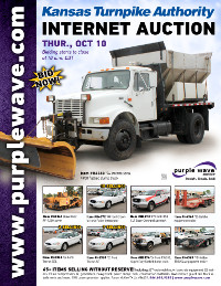 View October 10 Kansas Turnpike Authority Auction flyer