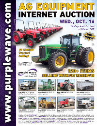 View October 16 Ag Equipment Auction flyer