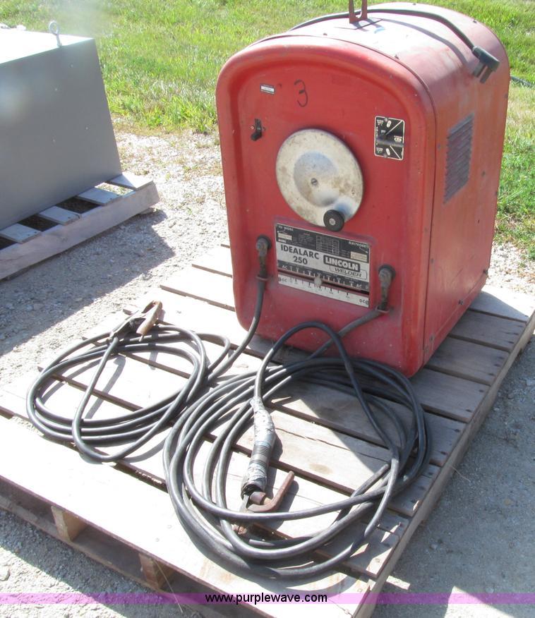 lincwelder lincoln welder sale generator sold item for image auction