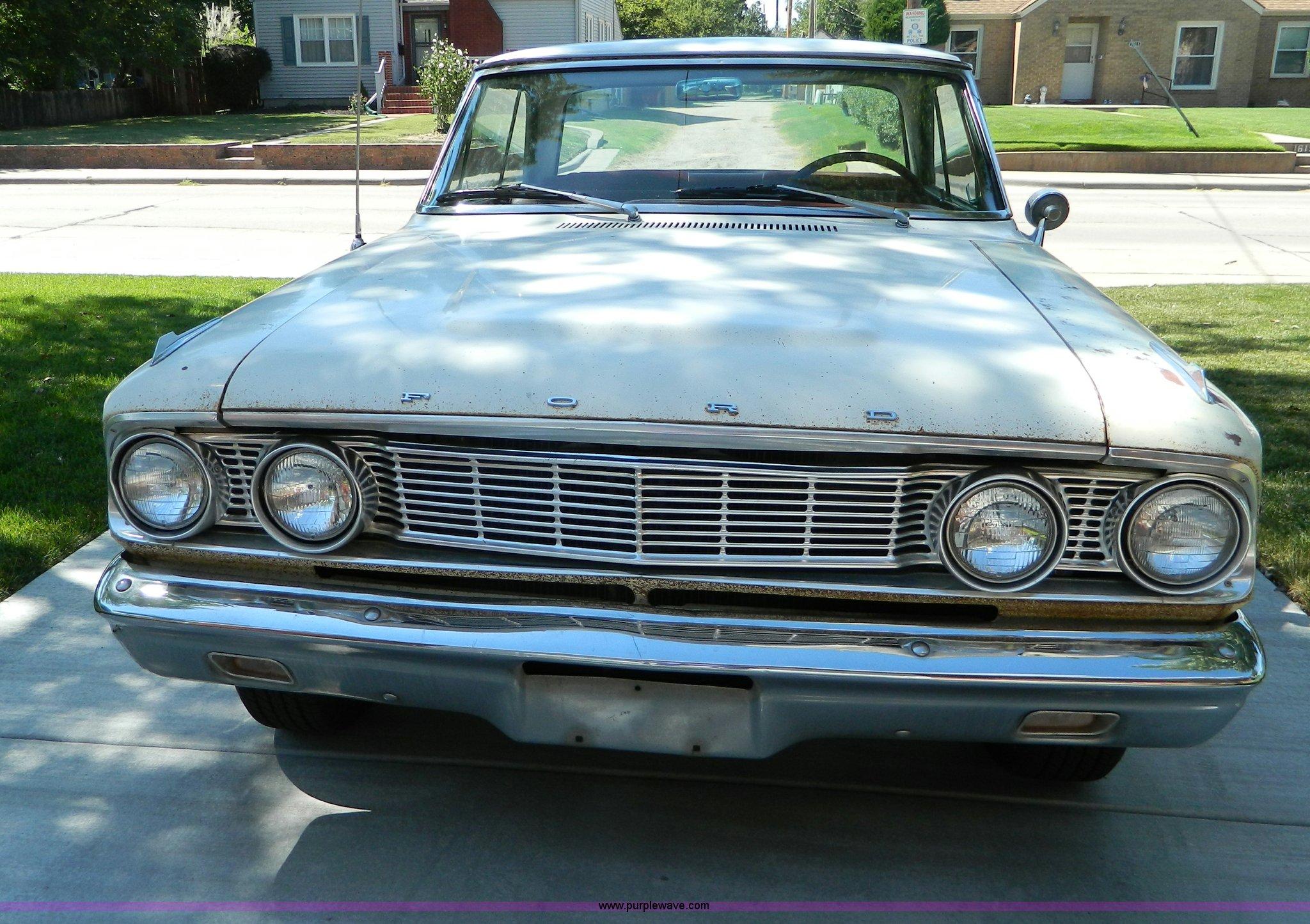 1964 Ford Fairlane 500 | Item D6032 | SOLD! October 16 Vehic
