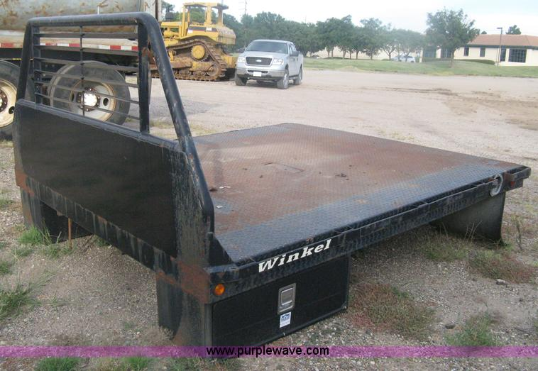 Flatbed For Sale >> Winkel Steel Flatbed Item H6441 Sold October 17 Constru