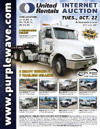 View October 22 United Rentals Auction flyer