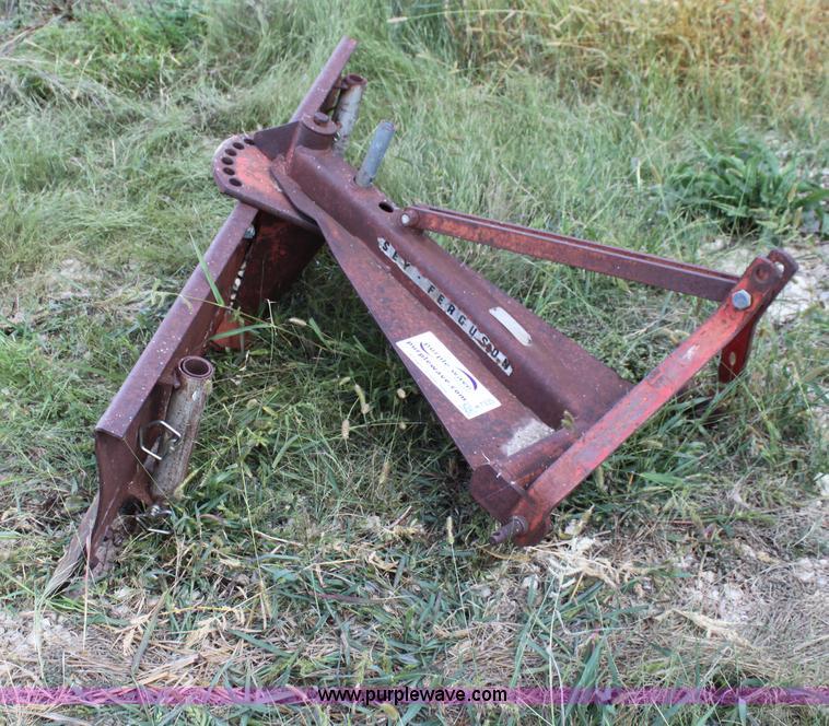 Massey Ferguson Mf16 Blade Item H7335 Sold October 30