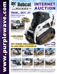 View October 31 Bobcat of the Rockies Auction flyer