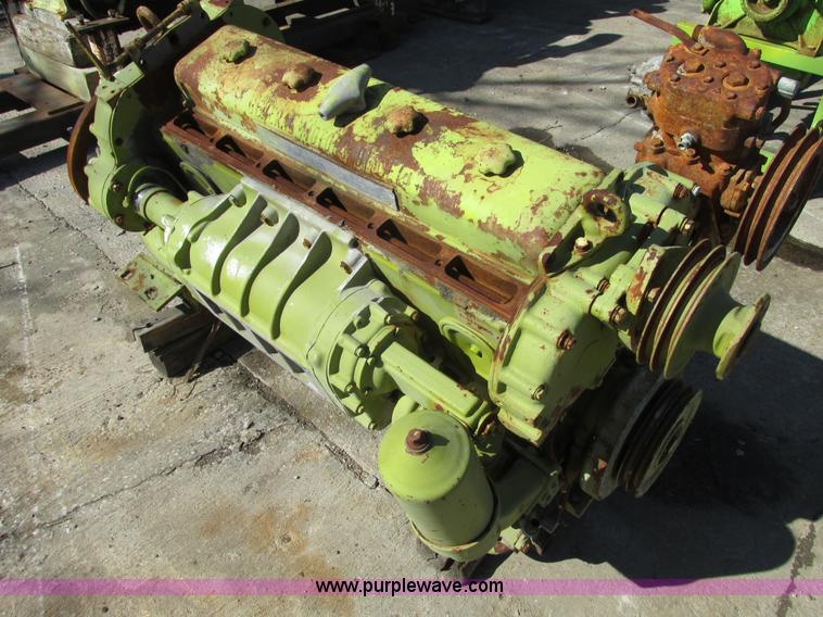 Detroit Diesel 6-71 diesel engine core | Item G3011 selling