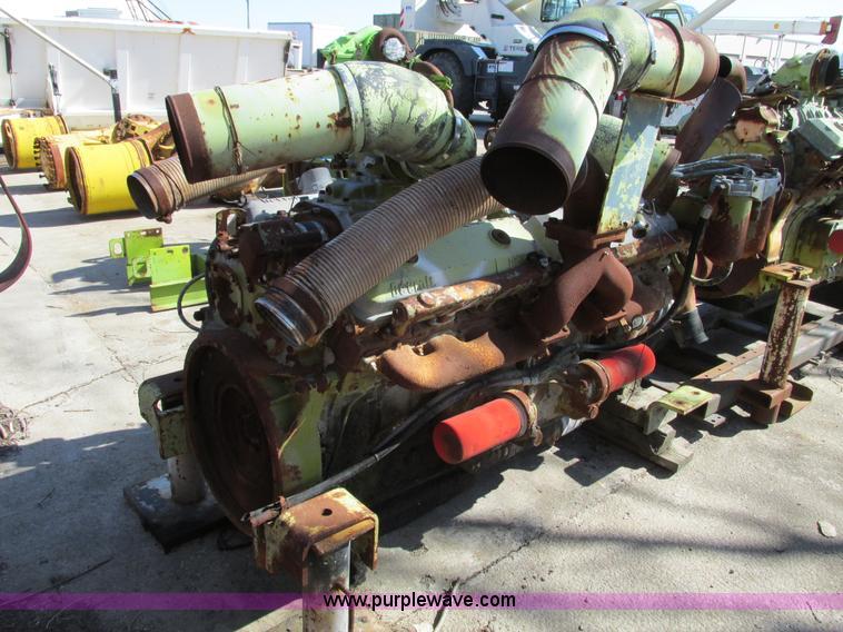 Detroit 16V71 diesel engine core | Item G3013 | SOLD! Octobe