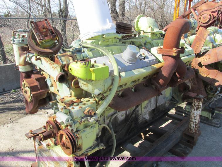 Detroit 16V71 diesel engine core | Item G3014 | SOLD! Octobe