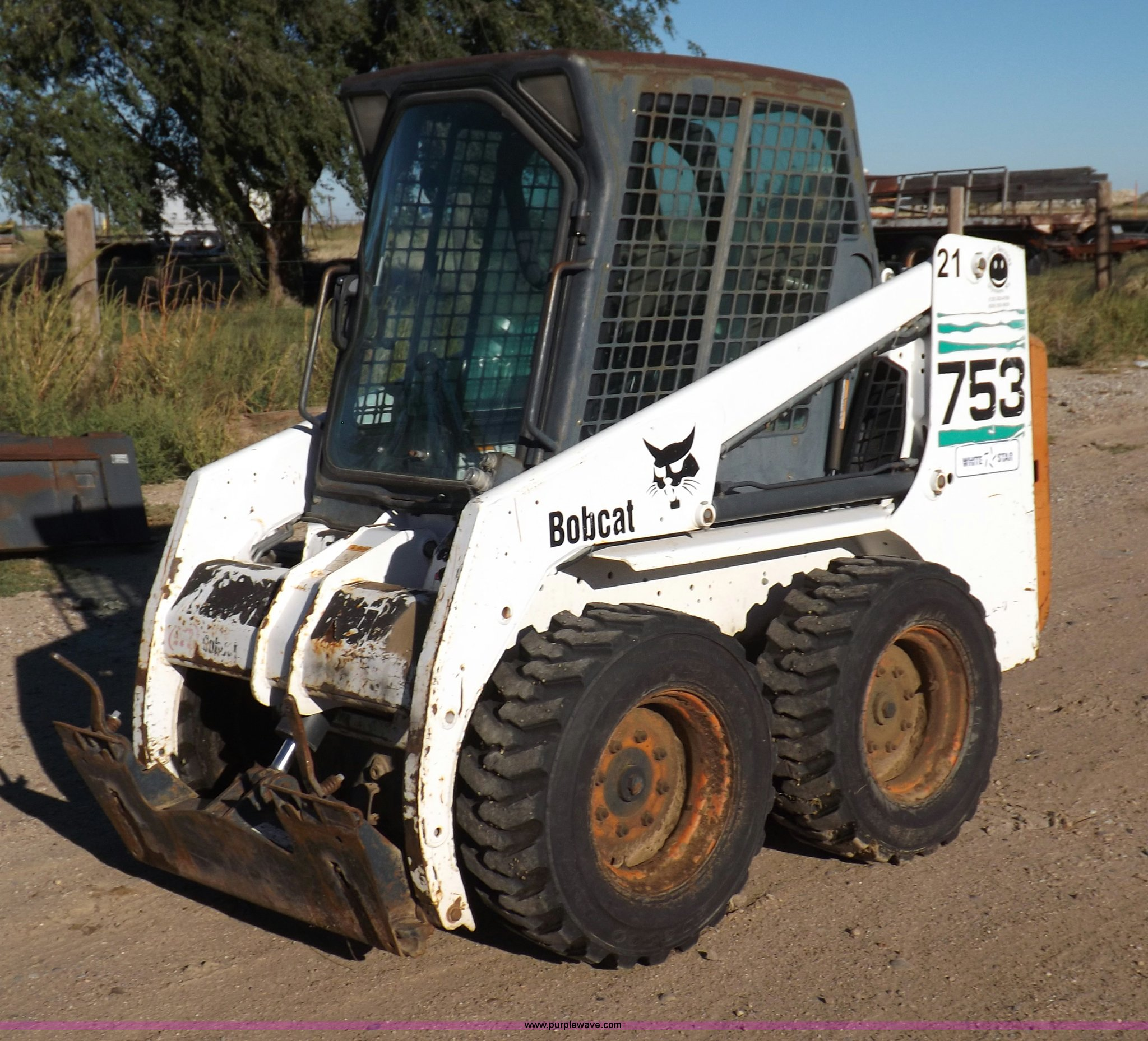 Bobcat 753 Skid Steer Model Schematic Diagram