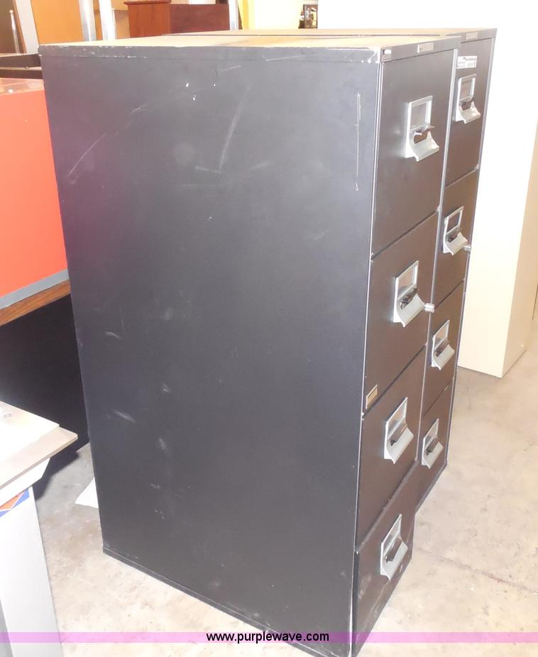 2) Victor Fire Master LX file cabinets | Item AR9183 | SOLD...