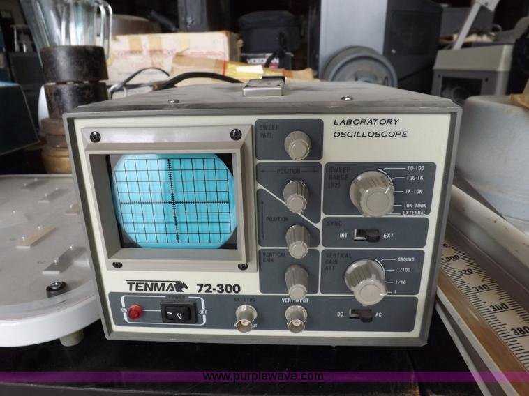 Assorted science, audio visual, electrical testing equipment
