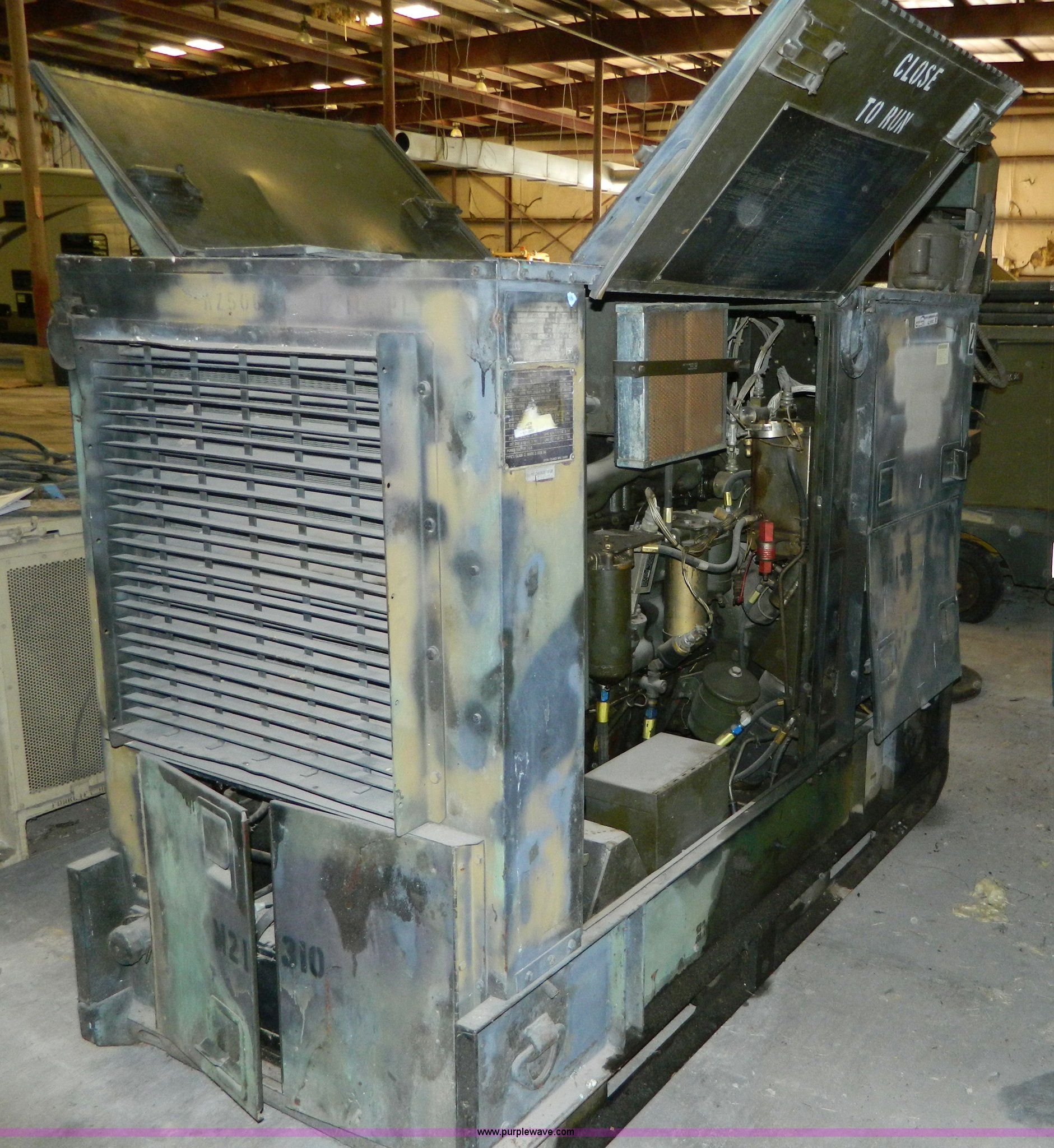 U S  Army Surplus portable generator | Item AZ9187 | SOLD! N