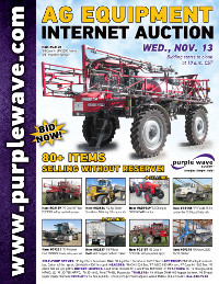 View November 13 Ag Equipment Auction flyer