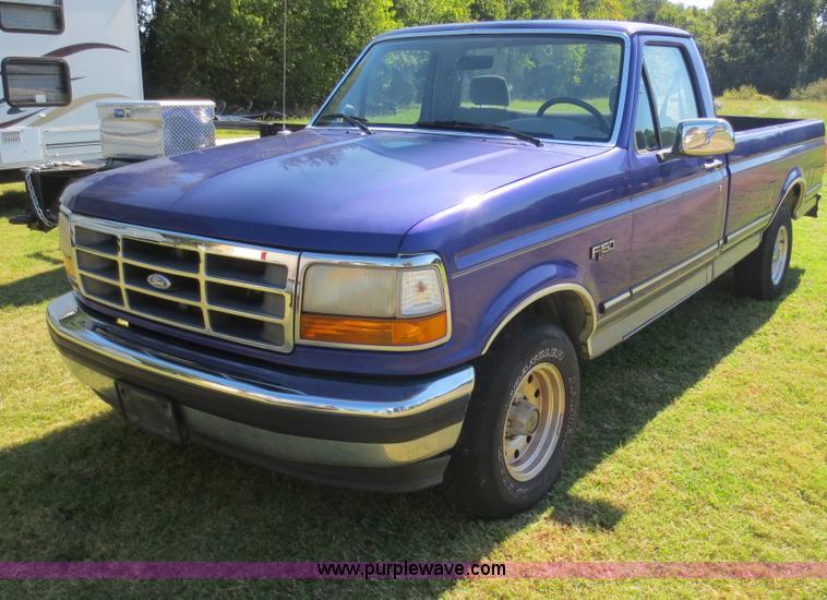 1995 Ford F150 Xlt Pickup Truck Item F6704 Sold Novembe