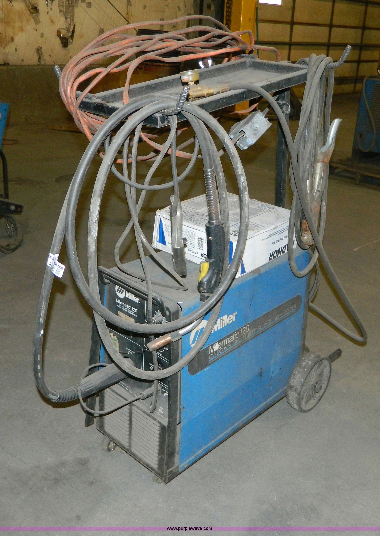 Miller Millermatic 120 CV/DC welder | Item AZ9091 | SOLD! No...