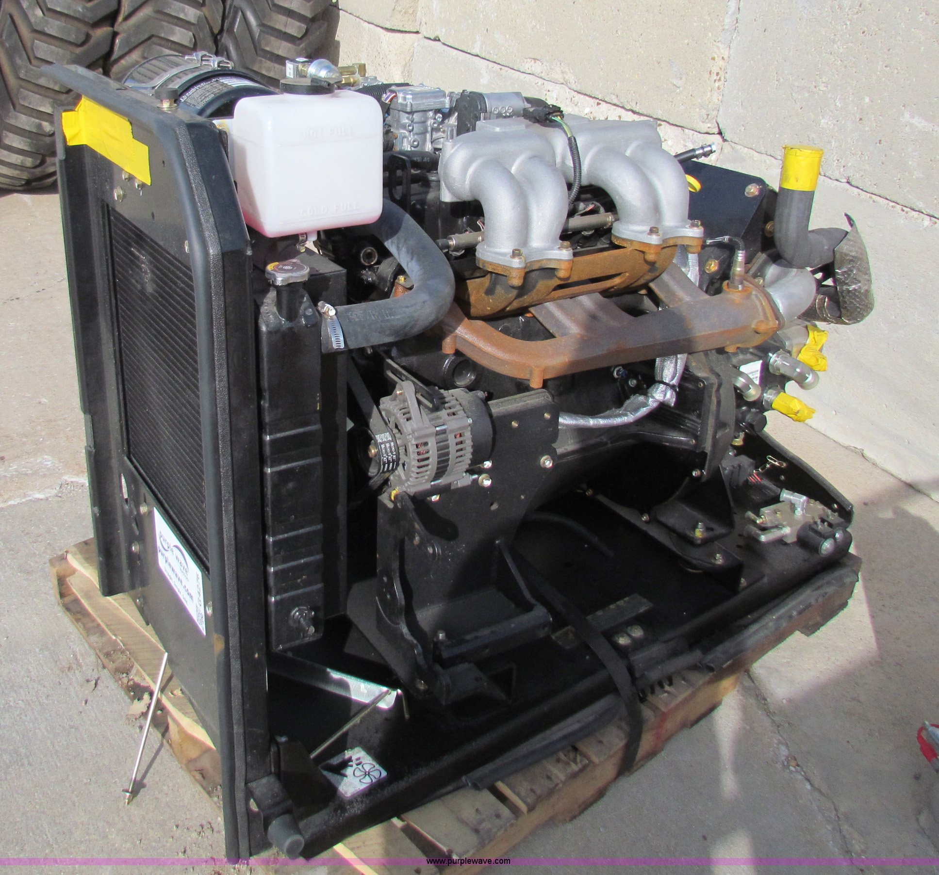 2011 Gm Vortec 3 0l Gas Power Skid