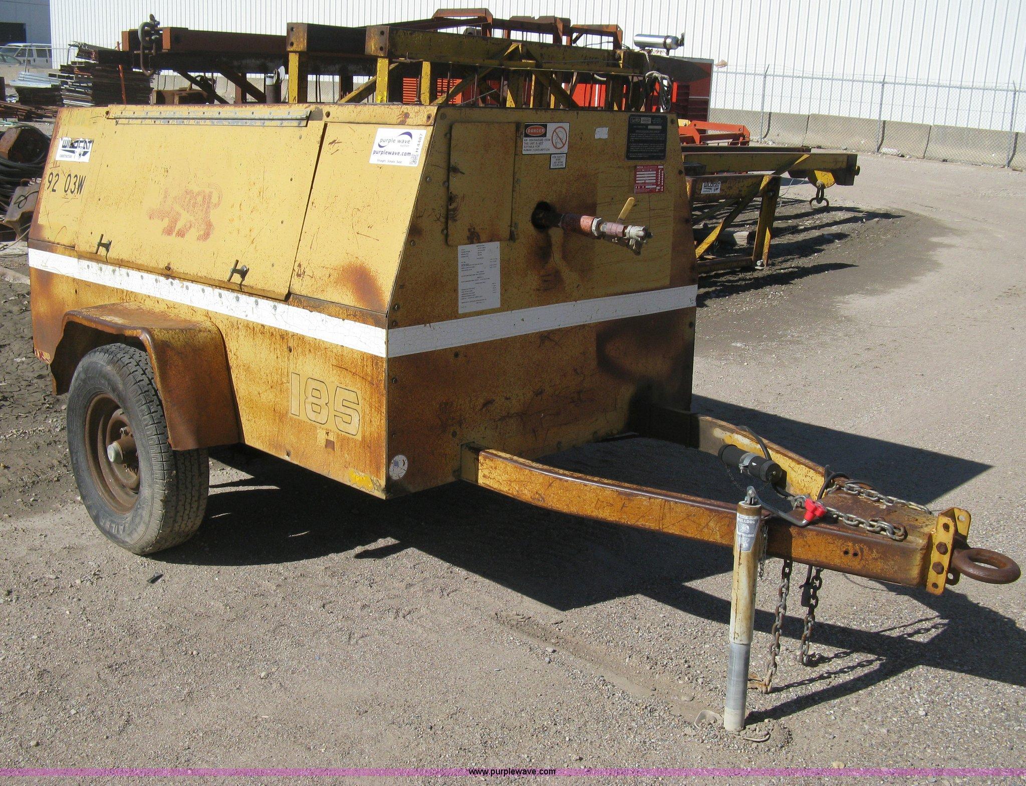 1990 Leroi Q185DJE mobile pressor Item H4487
