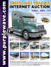 View November 19 Truck and Trailer Auction flyer